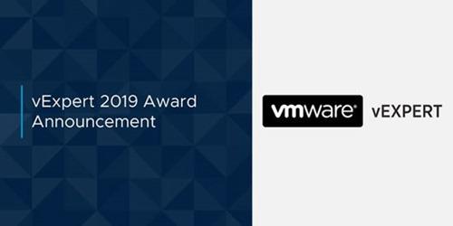 VMware vExpert 2019 Award Announcement