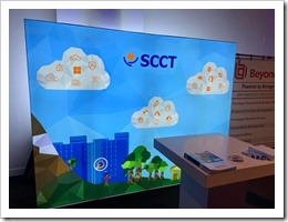 SCCT Booth (click for larger photo, by Carlo Schaeffer)
