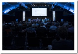 Presenting as a Duo with Raymond (click for larger photo by the ExpertsLive Organization)