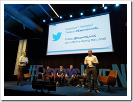 ExpertsLive Panel Keynote (click for larger photo by Organization)
