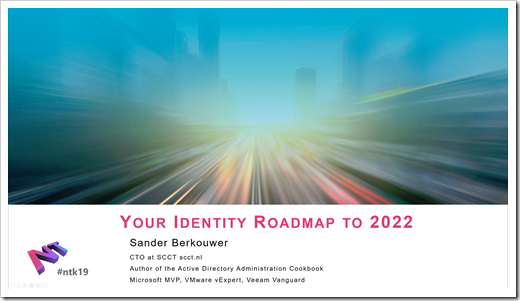 Introduction Slide for 'Your Identity Roadmap to 2022'
