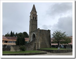 The 15th-century St. Bernardin Church (click for larger photo)