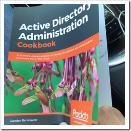Samad Assou and his Active Directory Administration Cookbook