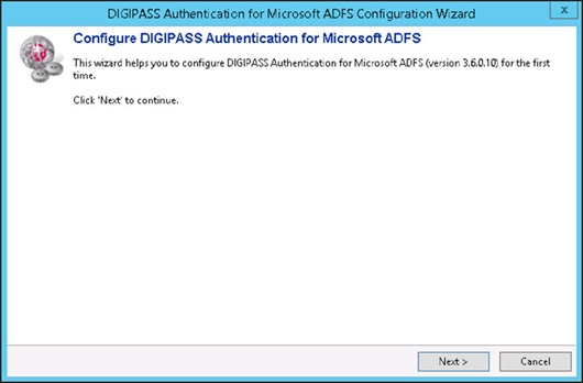 DIGIPASS Authentication for Microsoft ADFS Configuration Wizard - Configure DIGIPASS Authentication for Microsoft ADFS