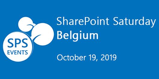SharePoint Saturday Belgium