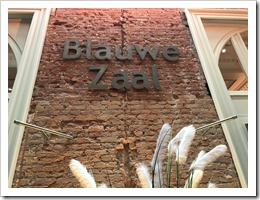 Blauwe Zaal, aka Room D (click for larger photo)