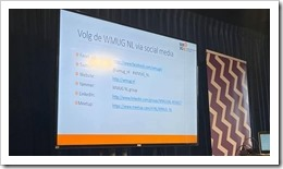Follow WMUG.nl Meetup (click for larger photo from Adnan Hendricks)