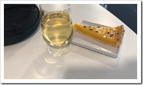Desert at the Air France Lounge in Paris (click for larger picture)