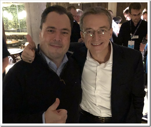 Meeting Pat Gelsinger at VMworld Europe