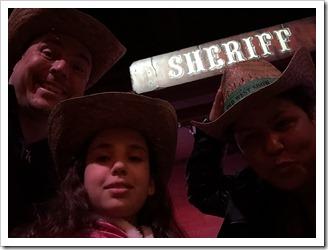 At Buffalo Bill's Wild West Show in Disneyland Paris