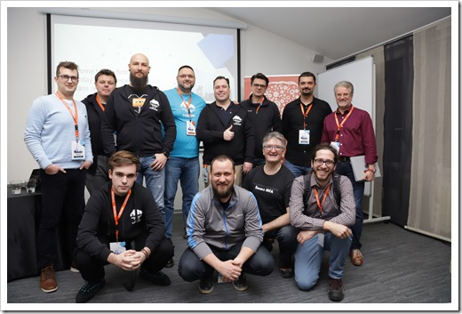 Azure Saturday Belgrade 2020's Speakers (click for larger photo by organization)