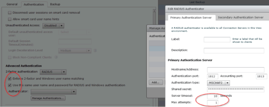 Azure MFA Horizon Settings (click for original screenshot)