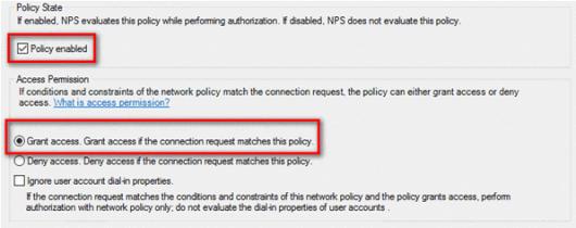 AzureMFA NPS Settings (click for original screenshot)