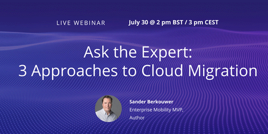 Ask the Expert: Three Approaches to Cloud Migration