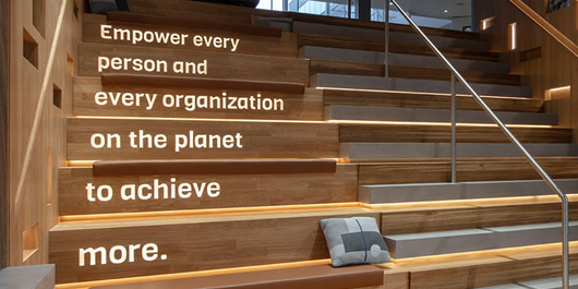 Empower every person and every organization on the planet to achieve more.