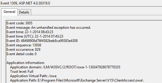 Bad request (HTTP 400 error) in Exchange 2013 OWA/ECP - Sergio's Shack